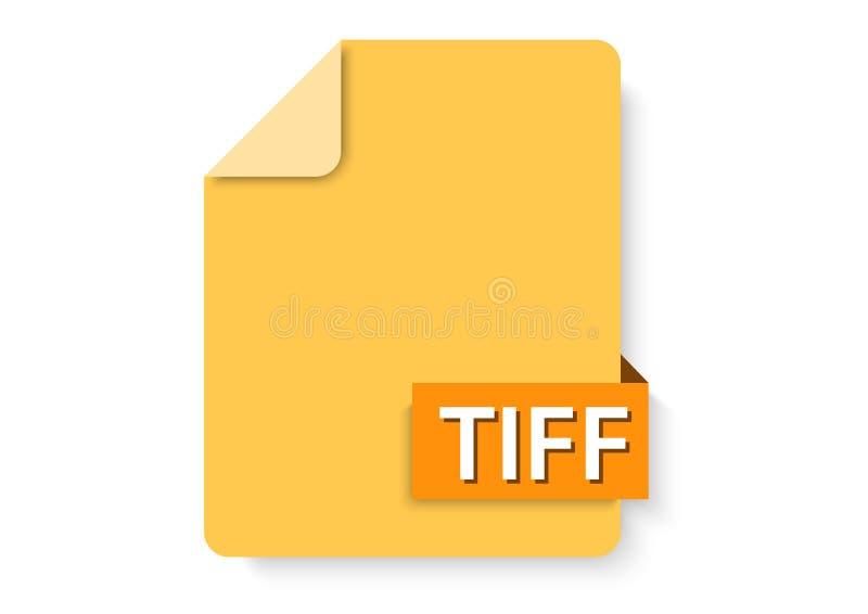 tiff images icon royalty free illustration