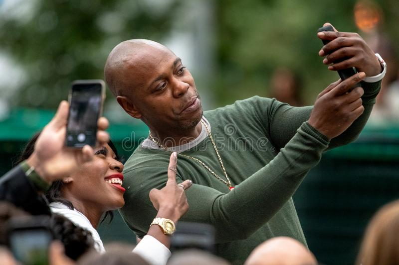 TIFF 2018, Toronto International Film Festival. Dave Chappelle, stand up comedian. The Toronto International Film Festival is one of the most important in the royalty free stock photography