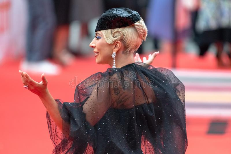TIFF 2018, Toronto International Film Festival. Lady Gaga. The Toronto International Film Festival is one of the most important in the world royalty free stock photos