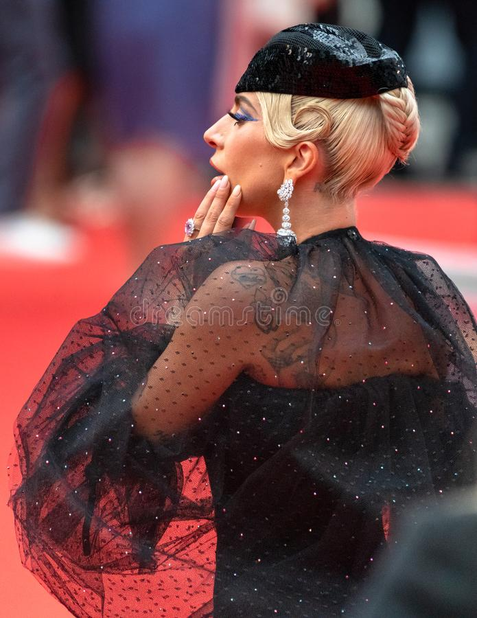 TIFF 2018, Toronto International Film Festival. Lady Gaga. The Toronto International Film Festival is one of the most important in the world royalty free stock images