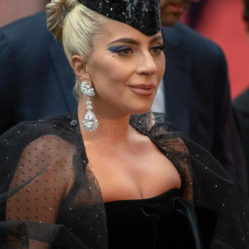TIFF 2018, Toronto International Film Festival. Lady Gaga. The Toronto International Film Festival is one of the most important in the world stock photo
