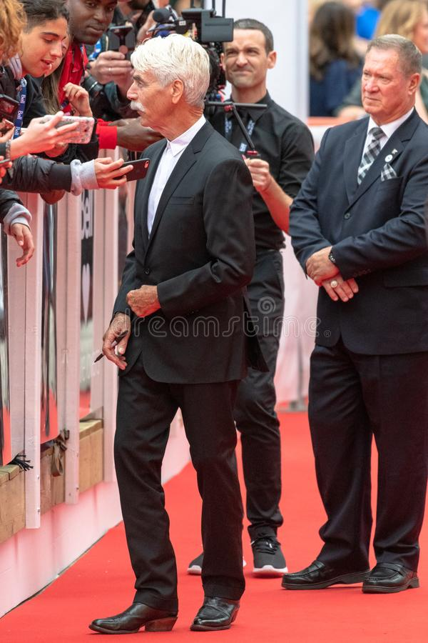 TIFF 2018, Toronto International Film Festival. Sam Elliott. The Toronto International Film Festival is one of the most important in the world royalty free stock photography