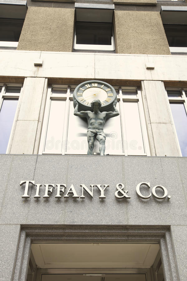 Tiffany & Co stock image