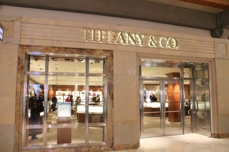 Tiffany & Co fotografia royalty free