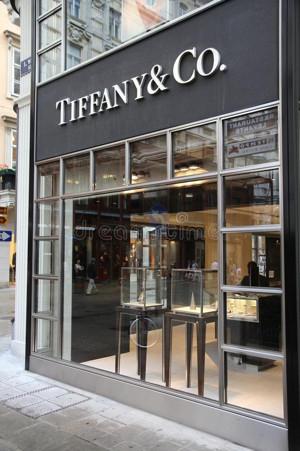 Tiffany co zdjęcia royalty free