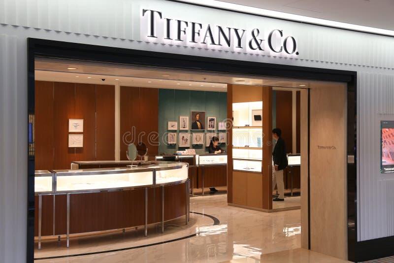 Tiffany & Co store stock image