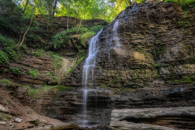 Tiffany Falls, Hamilton, Ontario royalty free stock photography