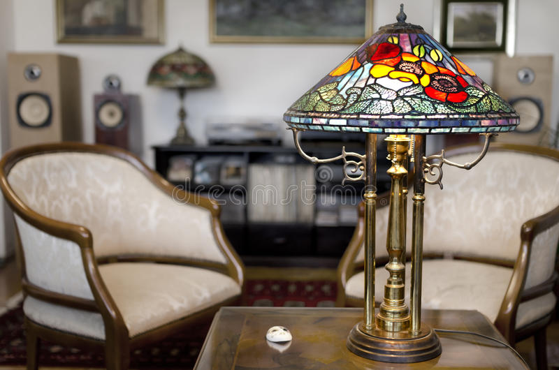 Tiffany lampa obrazy royalty free