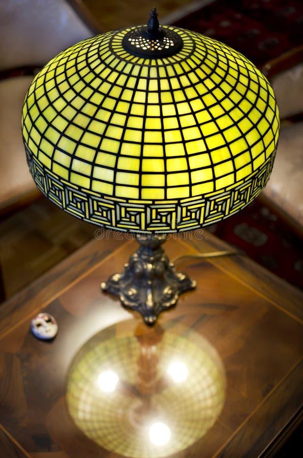 Tiffany lampa zdjęcie stock