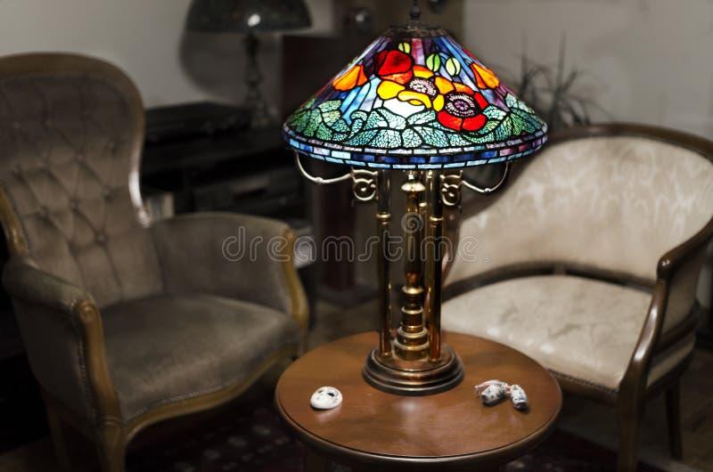 Tiffany lampa fotografia stock