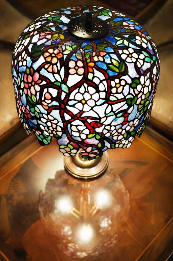 Tiffany lampa obrazy stock