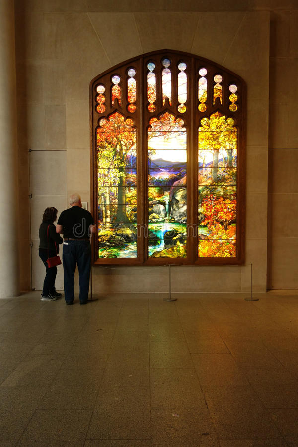 Tiffany okno obraz royalty free