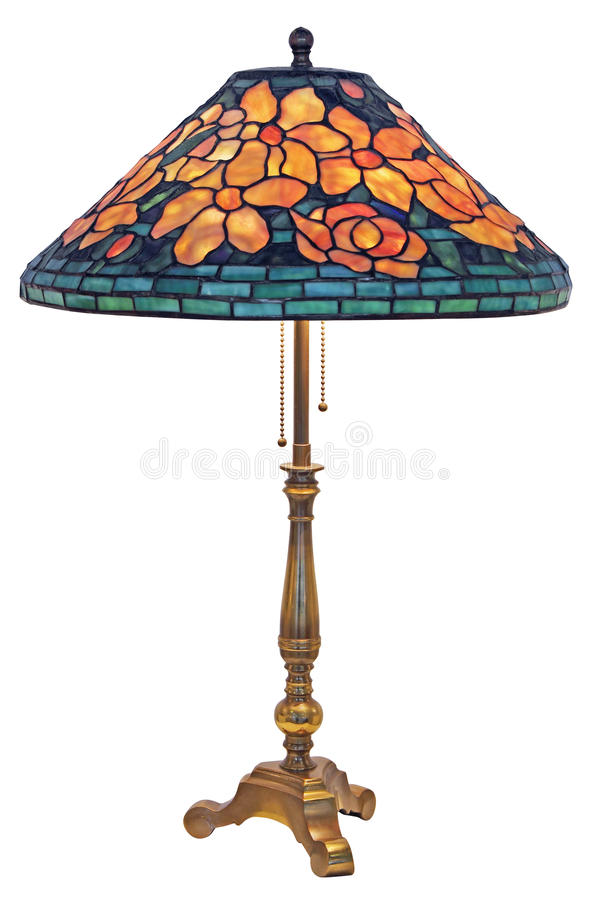 Tiffany Table Lamp royalty free stock image