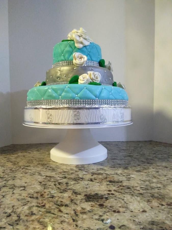 Tiffany tort zdjęcie stock
