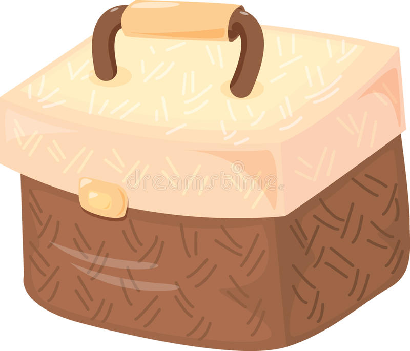 Download Tiffin bag stock vector. Image of picture, background - 11446410