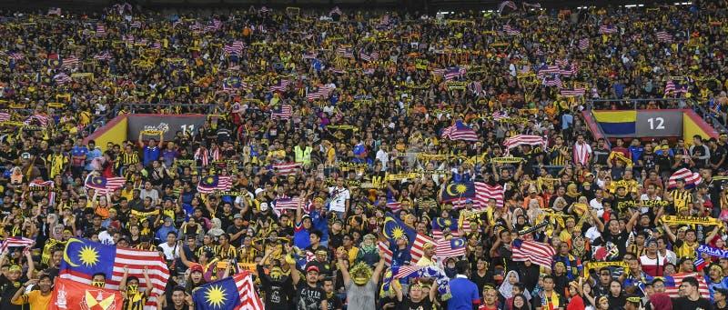 Tifosi della Malesia fotografia stock