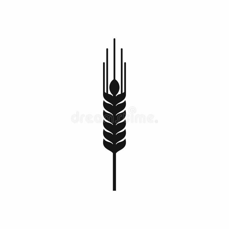 Tige d'icône mûre d'orge, style simple illustration libre de droits