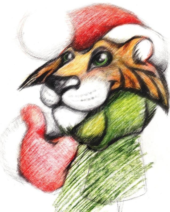 Download Tiger stock illustration. Image of animal, horizontal - 10972794