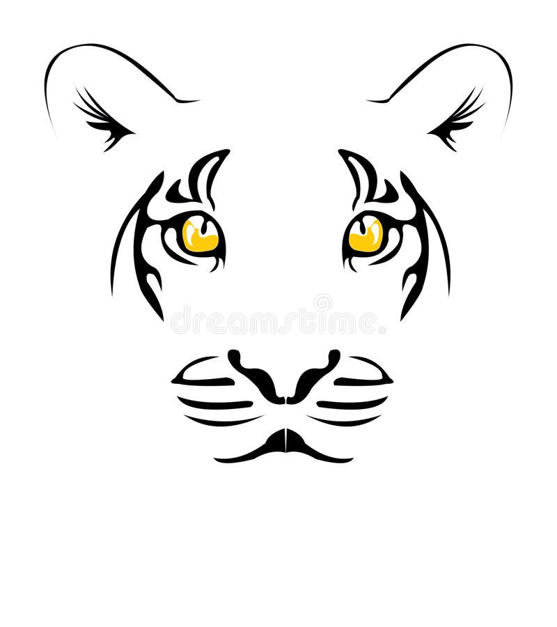 Download Tiger stock vector. Image of critter, hunting, eyesight - 15994205