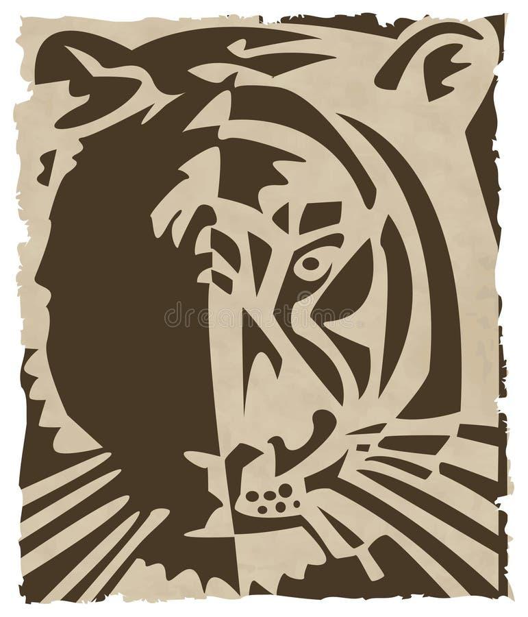 Tiger stock illustration