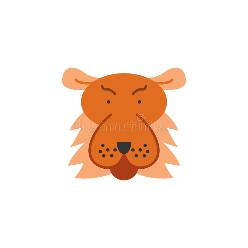Tiger, animal, wildlife icon. Element of color African safari icon. Premium quality graphic design icon. Signs and symbols. Collection icon for websites, web vector illustration