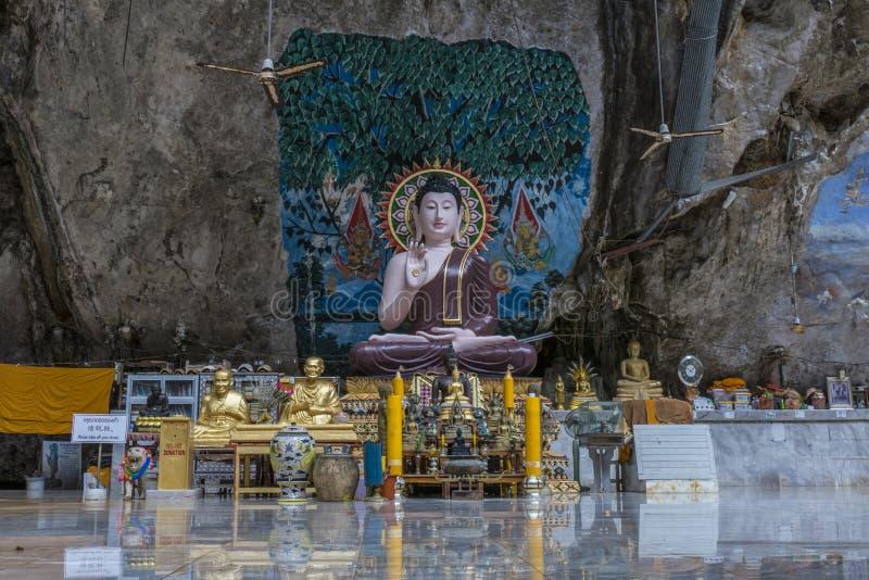 Tiger Cave Temple, Krabi, Thaïlande photographie stock