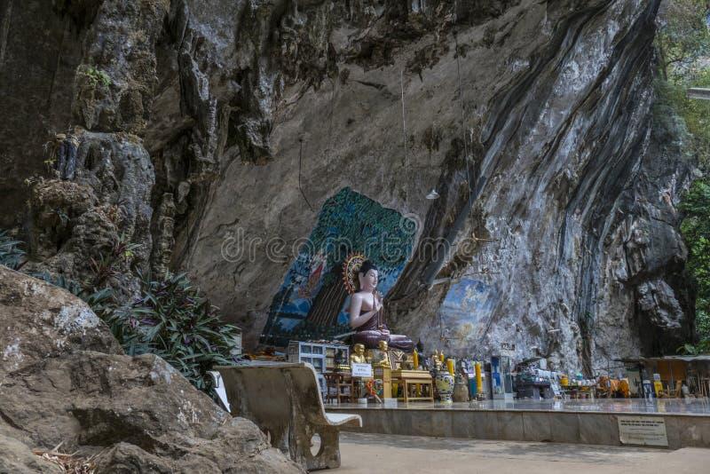 Tiger Cave Temple, Krabi, Thaïlande photos stock