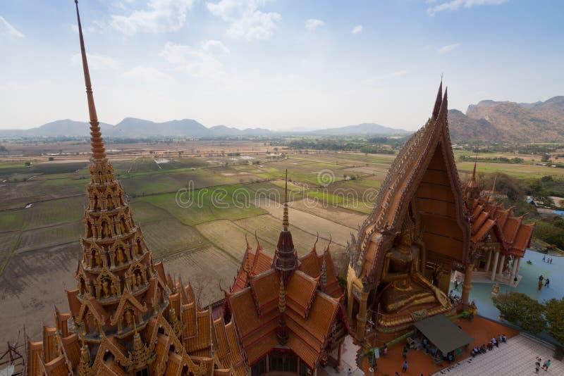 Tiger Cave Temple Wat Tham Sua dans Kanchanaburi, Tha?lande images stock