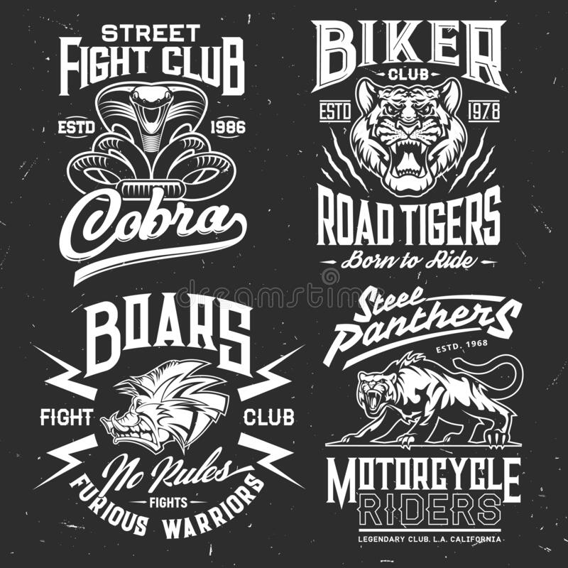 Free Tiger, Cobra, Panther, Boar T-shirt Print Mockup Royalty Free Stock Photography - 192393627