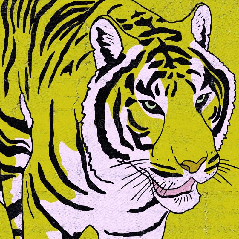 Download Tiger Draw Stock Illustration - Image: 83722230