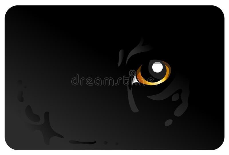 Tiger_eye immagini stock