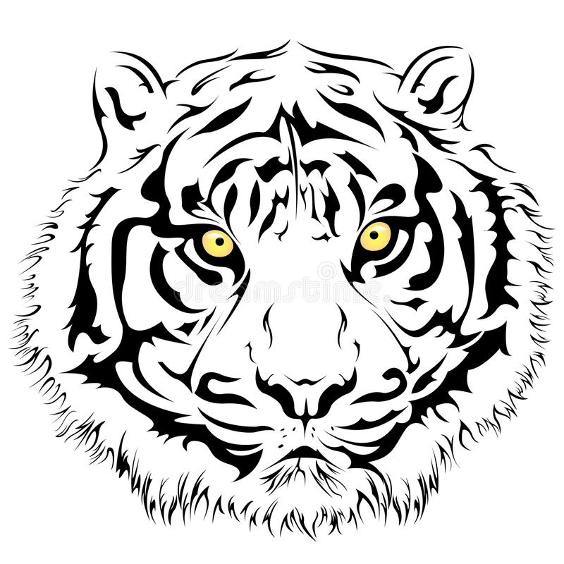 Download Tiger Face, Vector Royalty Free Stock Photography - Image: 32219867