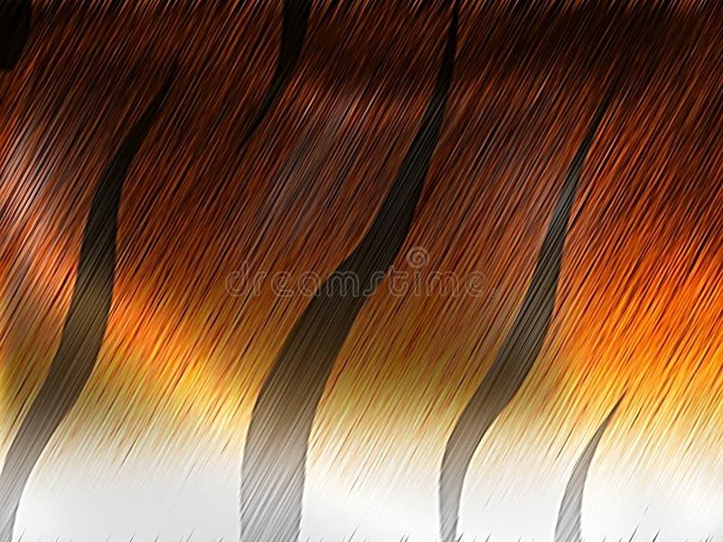 Download Tiger fur stock illustration. Illustration of camouflage - 15098798