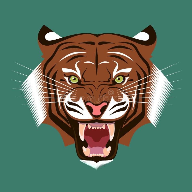Tiger Head stock foto's