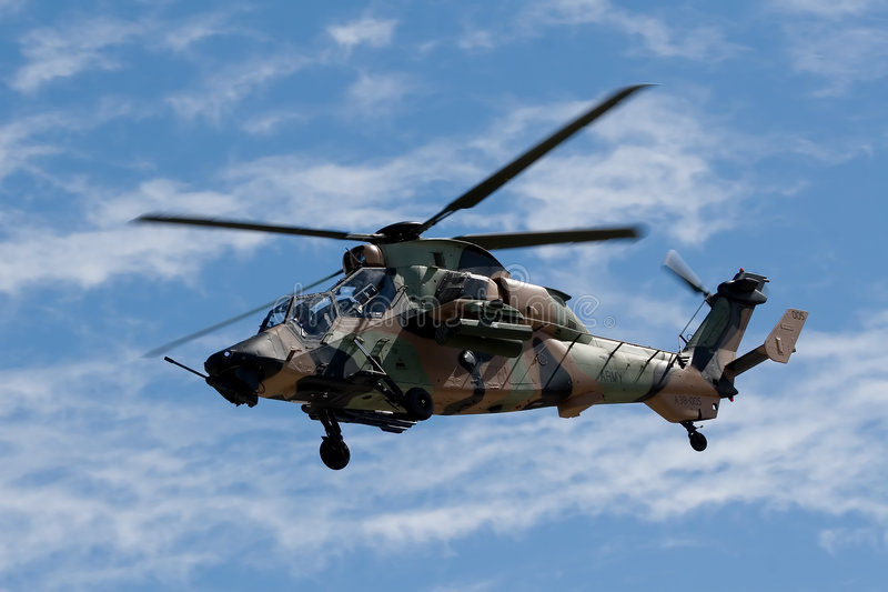 Tiger Helicopter stock image