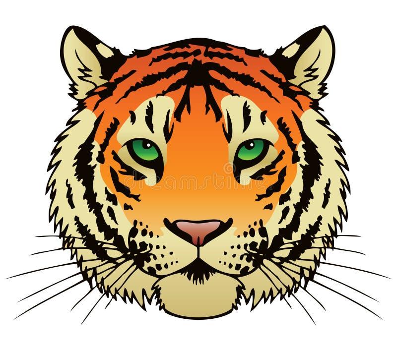 Download Tiger stock vector. Illustration of hunt, drawing, gradient - 30709260