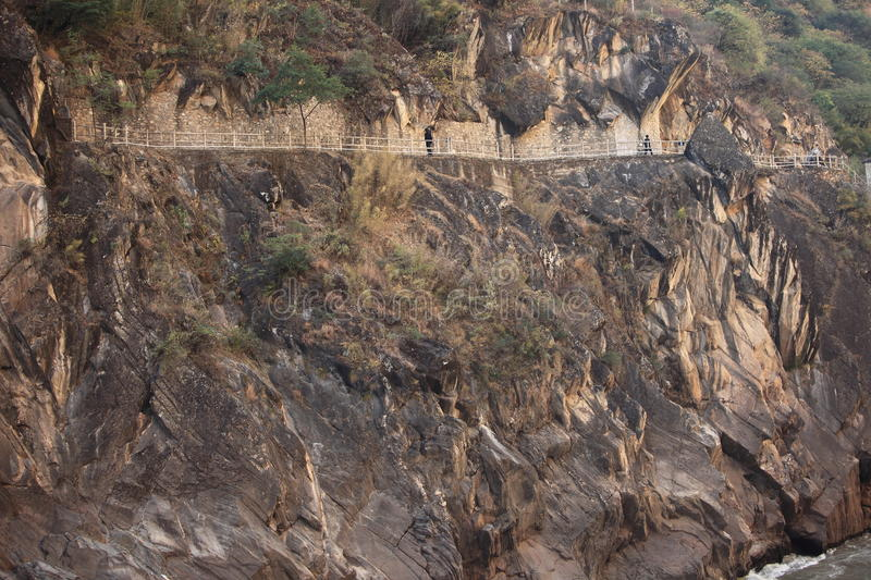 Tiger Leaping Gorge royalty free stock image