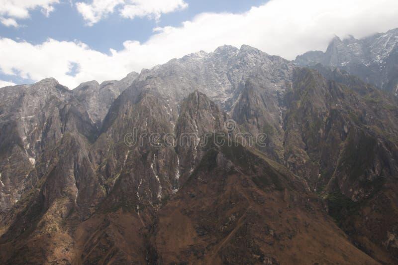 Tiger Leaping Gorge - il Yunnan - la Cina fotografie stock
