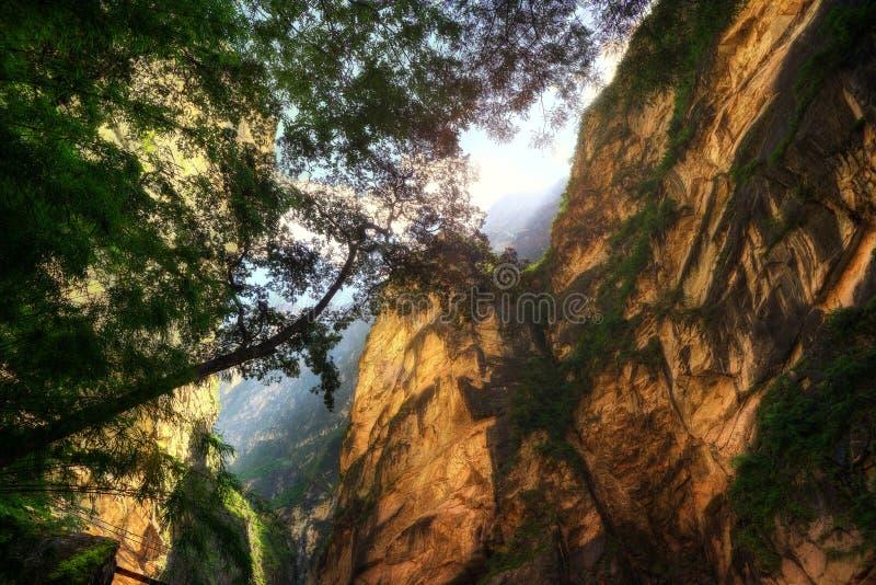 Tiger Leaping Gorge Lijiang China foto de archivo