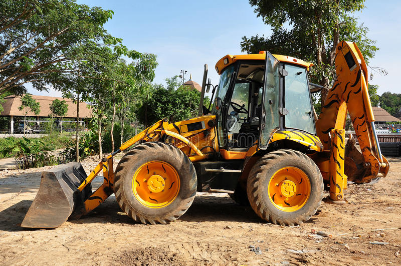 Download Tiger loader stock photo. Image of earthmover, eathmoving - 25106244