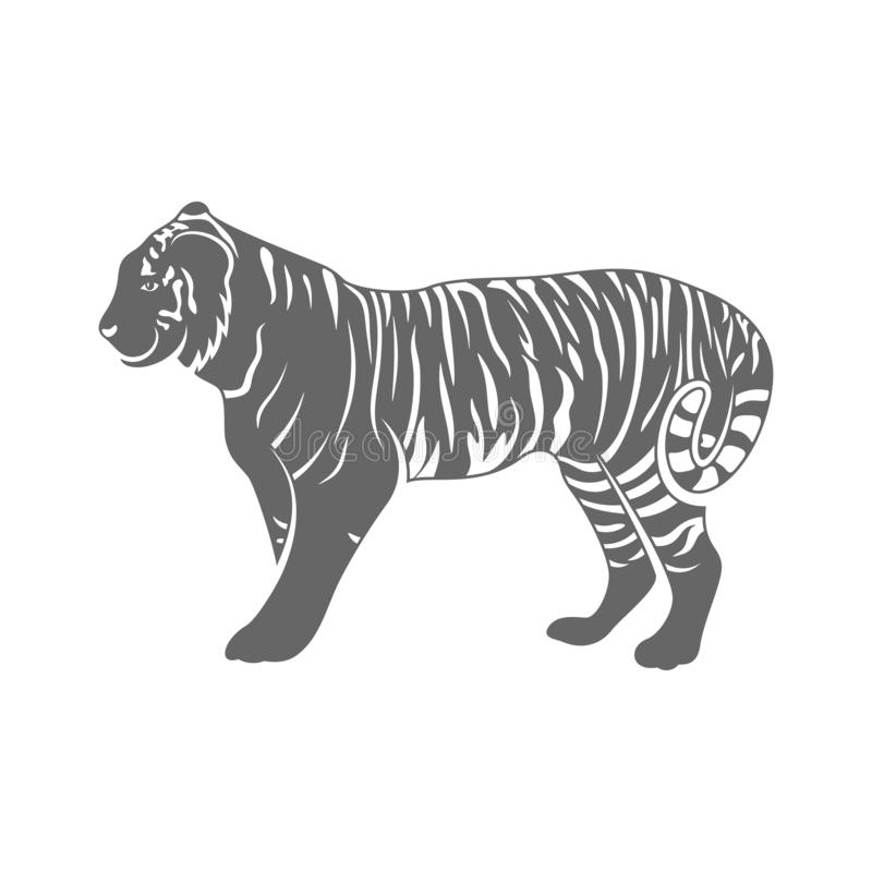 60 Tiger Shape Templates Crafts Colouring 6