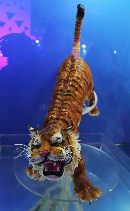 Tiger made of sugar