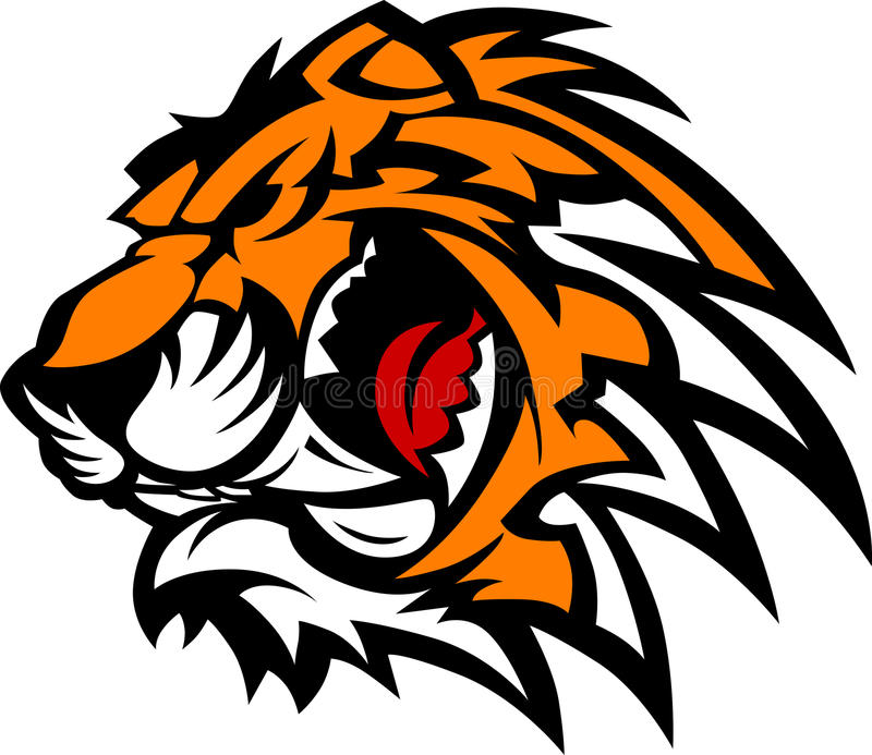 Download Tiger Mascot Vector Graphic Stock Vector - Image: 20728384