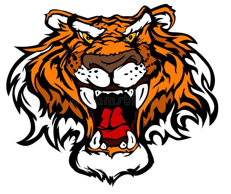Tiger mascot logos