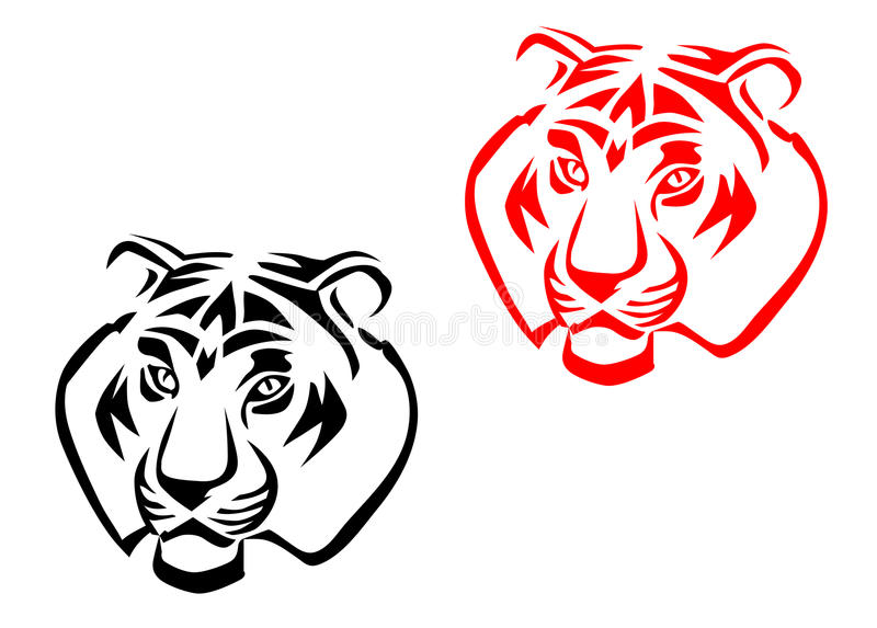 Tiger Mascots Stock Photo