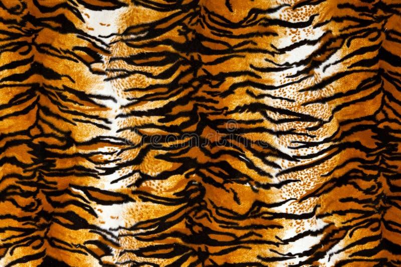 Tiger Print Background royaltyfria foton