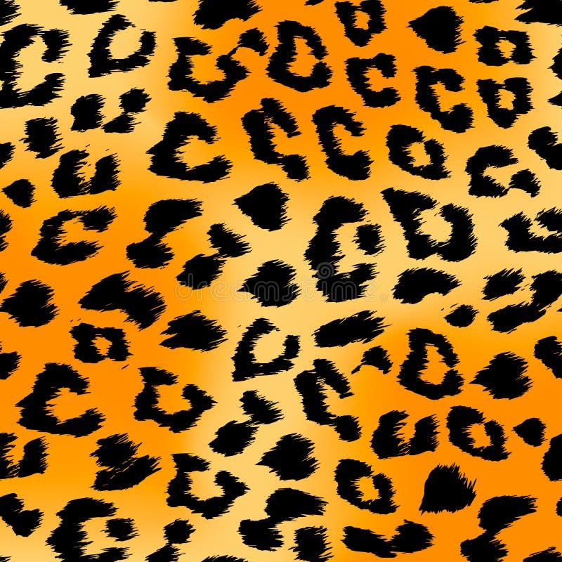 Tiger Print Background ilustração do vetor