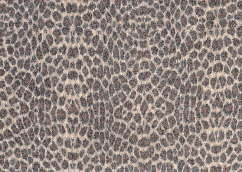 Tiger print wool. Tiger print jersey wool for background: warm and soft texture for illustration stock image