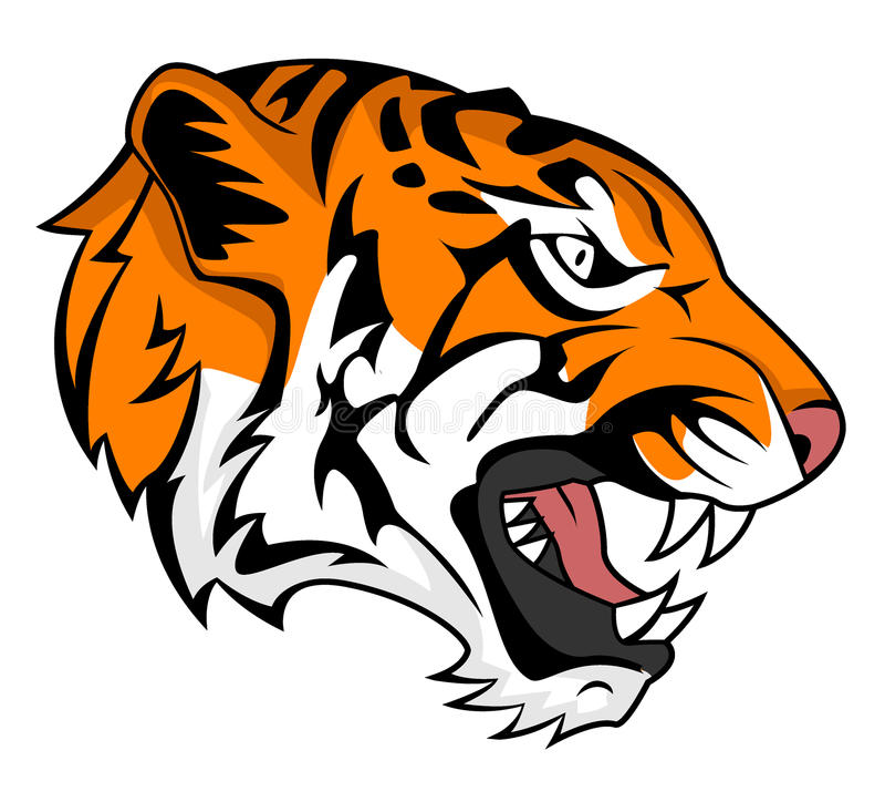 Tiger Roar stock abbildung