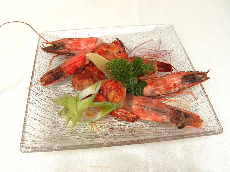 Download The Tiger Shrimp. stock image. Image of dinner, party - 14910721